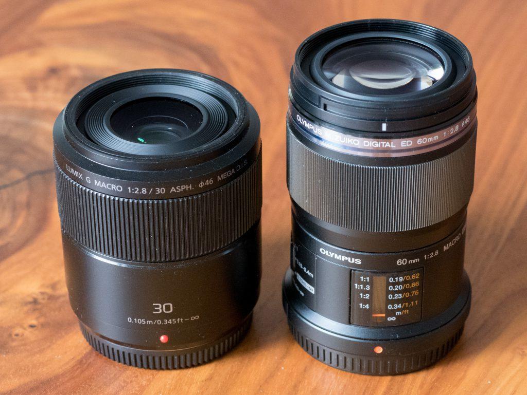 Micro Four Thirds macro lenses